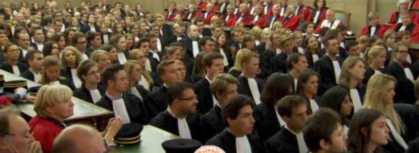 Volg de eedaflegging van de advocaat-stagiairs vanop de eerste rij! 1