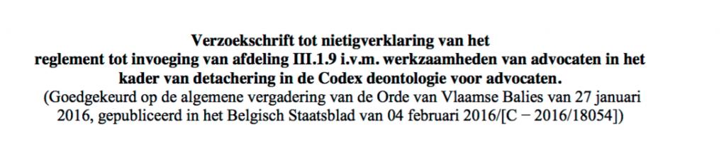 Volg het proces tot nietigverklaring detachering op de voet: vrijwillige tussenkomst OVB!