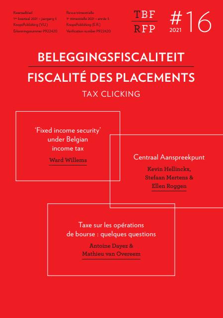 Uitbreiding CAP: einde van het Belgisch fiscaal bankgeheim?
